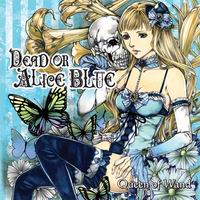 Queen of Wand DEAD or ALICE BLUE