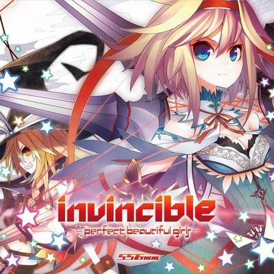 556ミリメートル invincible - perfect beautiful girls -