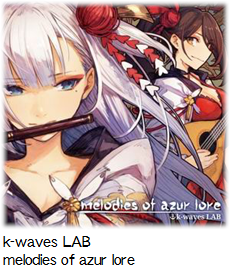 k-waves LAB melodies of azur lore