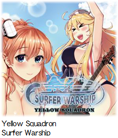 Yellow Squadron Surfer Warship