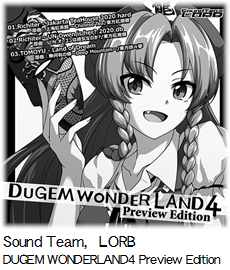 Sound Team,LORB DUGEM WONDERLAND4 Preview Edition.