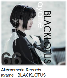 Alstroemeria Records ayame - BLACKLOTUS